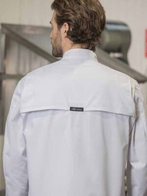 Chef Coats with Mesh Yoke 5450 | Premium Uniforms