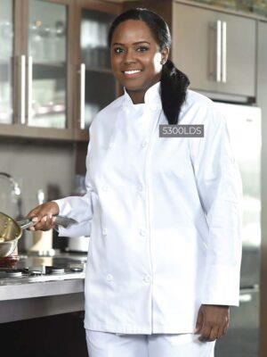 Ladies' Chef Coat 5300LDS | Premium Uniforms