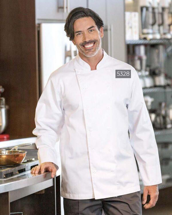 Florence Chef Coat 5328   Premium Uniforms