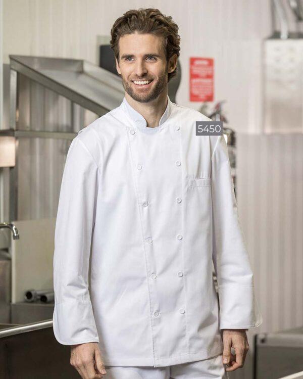 Chef Coats with Mesh Yoke