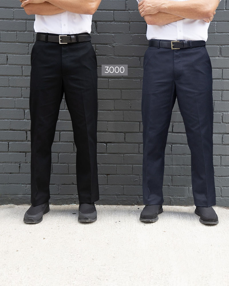 Work Pants with Button Closure