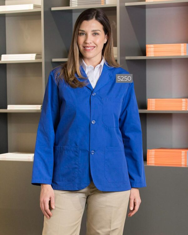 Poplin Counter Coat with Buttons 5250 | Premium Uniforms