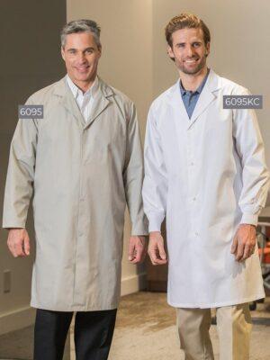 No Pocket Men's Lab Coats 6095-6095KC | Premium Uniforms