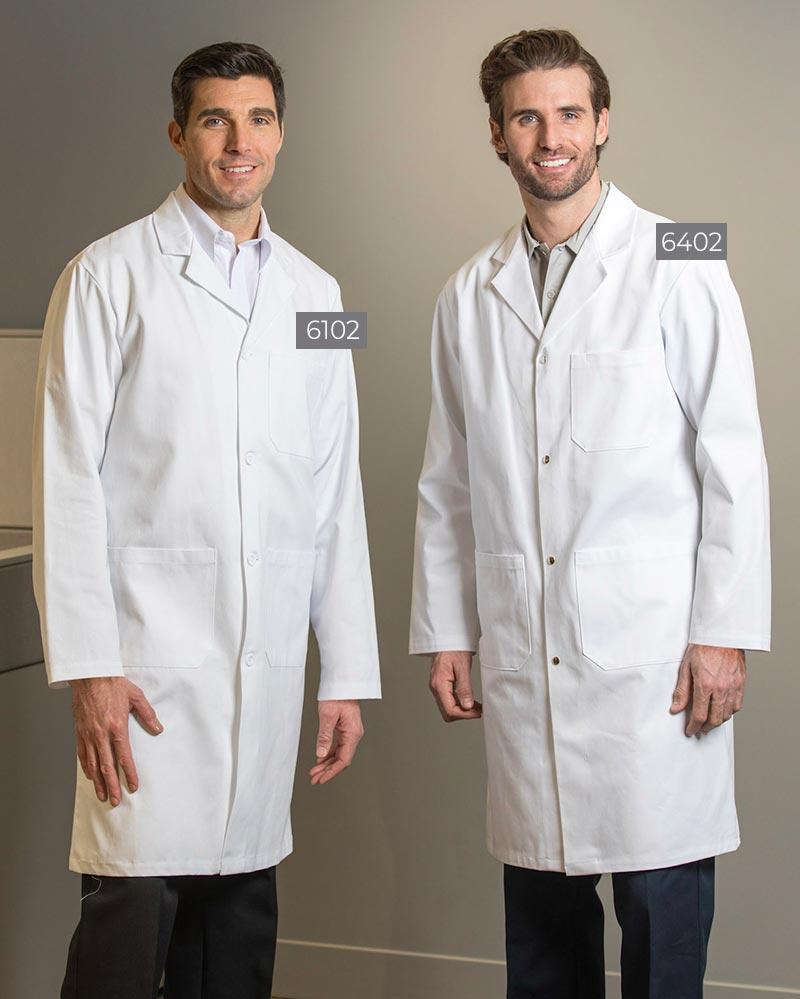 100% Cotton Men's Lab Coats