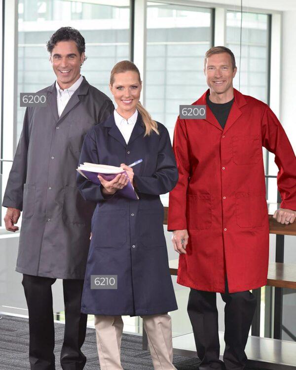 Poly/Cotton Long Coats 6200-6210-6200 | Premium Uniforms