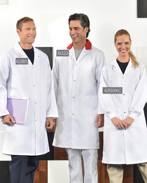 Food Industry Long Coats 6280-6022-6350 | Premium Uniforms