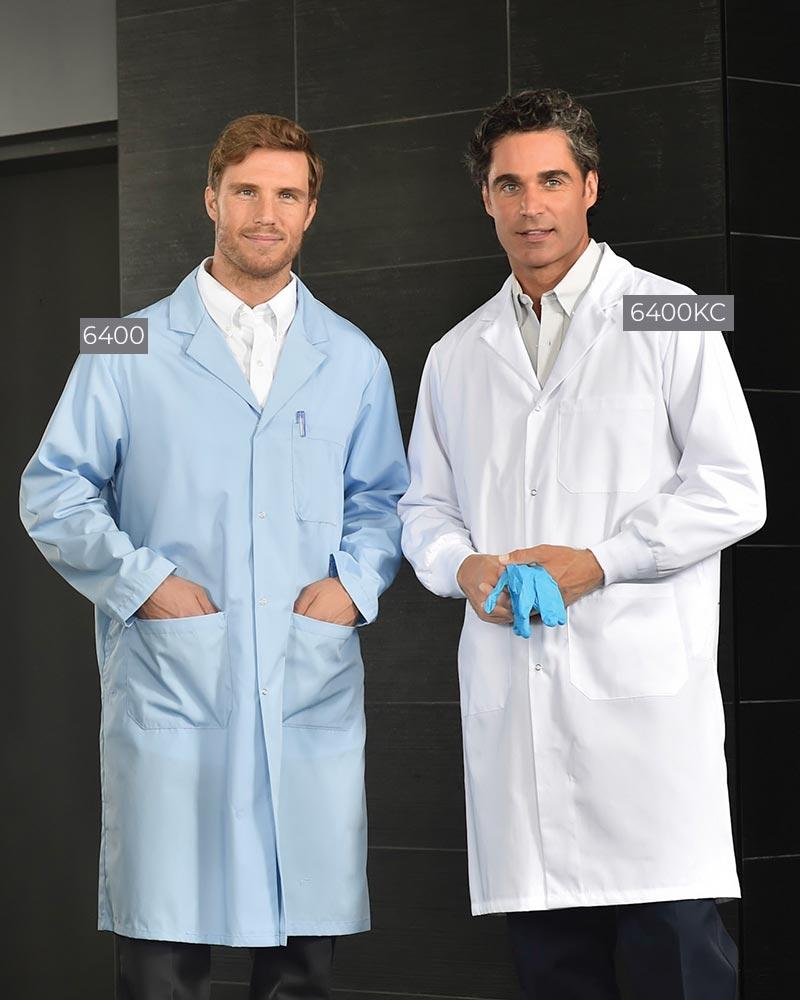 Three-Pocket Men's Lab Coats