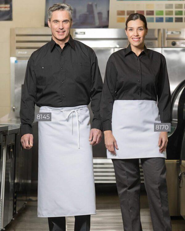 Spun Polyester Four-Way Apron 8145-8170 | Premium Uniforms