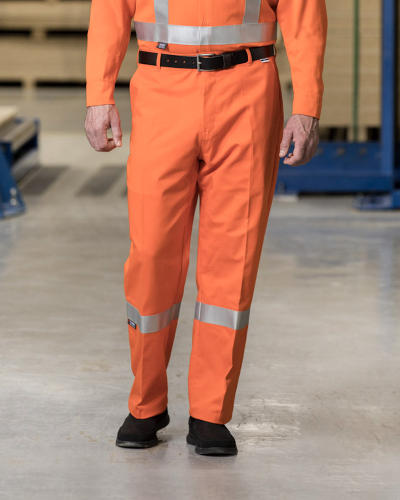 High-Vis Flame-Resistant Work Pants