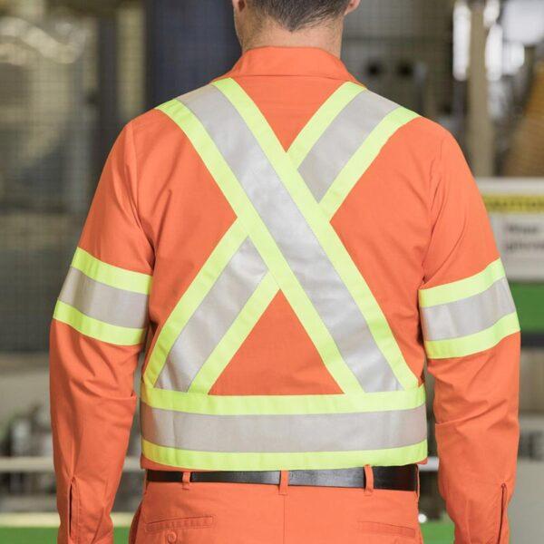 Work Shirt Back Detail
