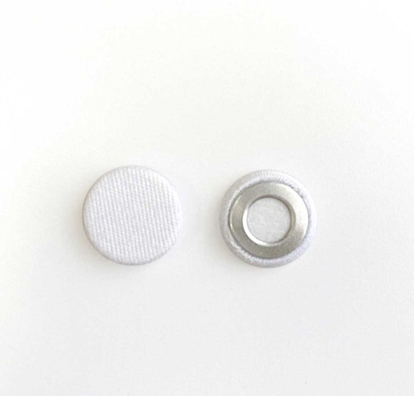 Flat Cloth Covered Button
